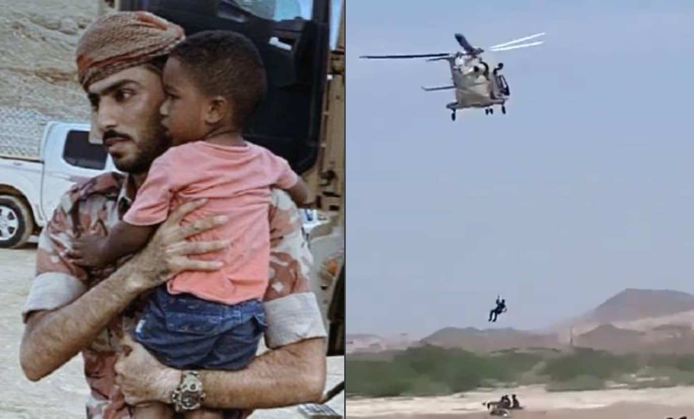 """""""منخفض الحج"""" في عُمان يودي بحياة طفلين وفقدان آخرين وإجلاء عشرات العائلات من منازلها (شاهد)"""