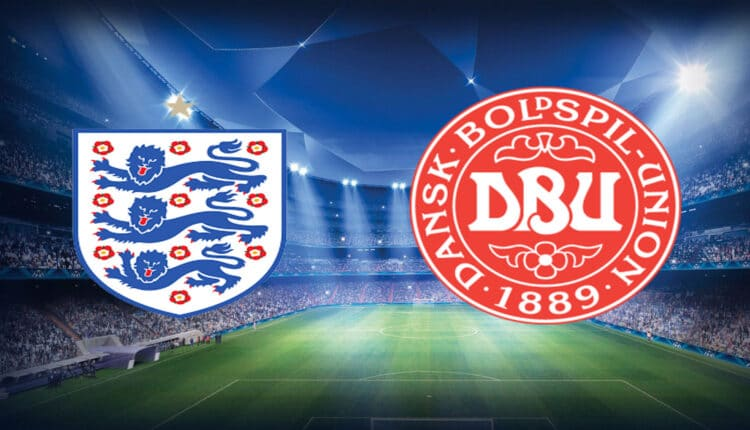 مباراة إنجلترا والدنمارك في بطولة اليورو
