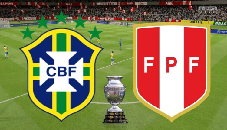 مباراة منتخب البرازيل والبيرو في كوبا أمريكا