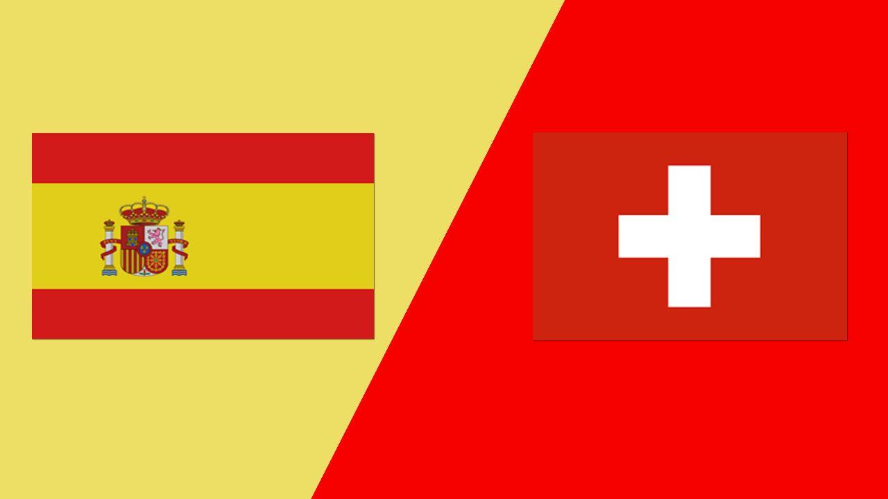 تعرف على الموعد لمباراة إسبانيا وسويسرا في اليورو والقنوات الناقلة