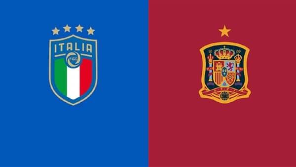 مباراة منتخب إيطاليا وإسبانيا في بطولة اليورو