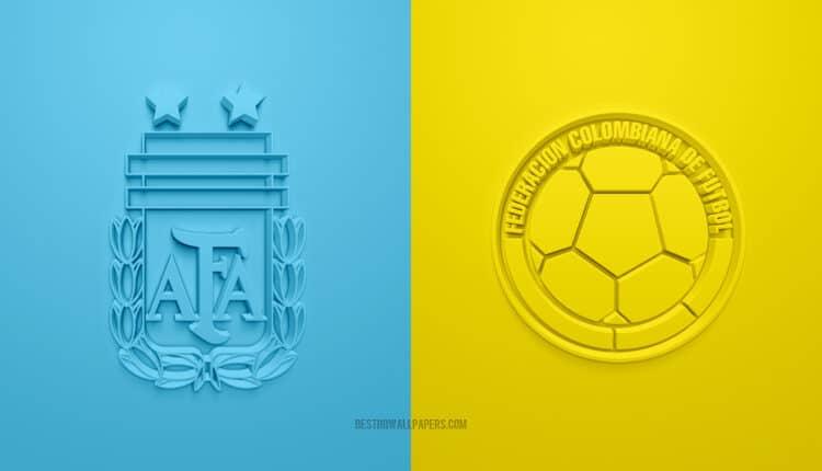 مباراة منتخب الأرجنتين وكولومبيا في بطولة كوبا أمريكا