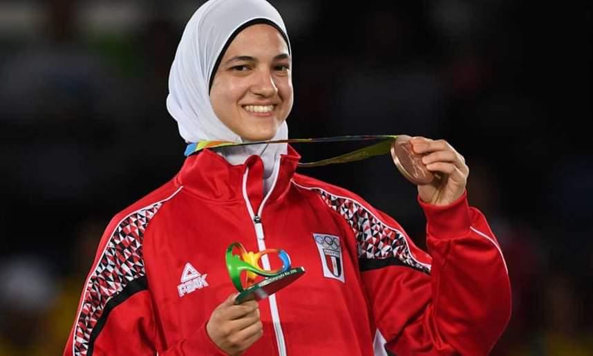 هداية ملاك والميدالية العربية الثالثة في أولمبياد طوكيو