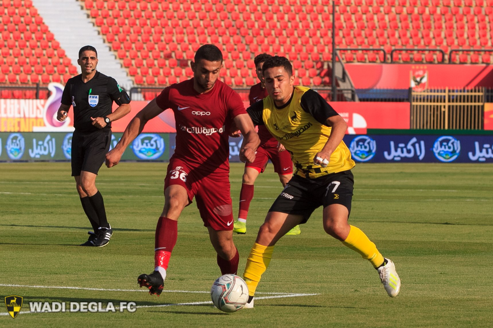 جدول ترتيب الدوري المصري بعد تعادل وادي دجلة أمام مصر المقاصة