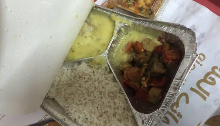 وجبات طعام الحجاج