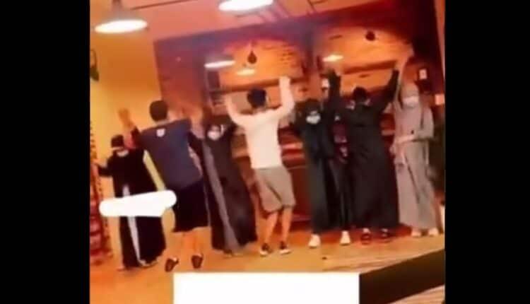 وصلة رقص في السعودية