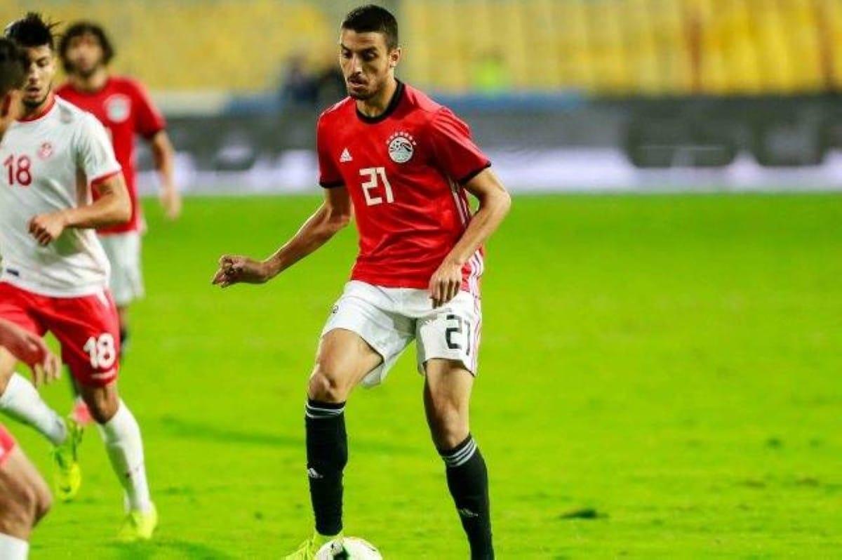 لاعب منتخب مصر طاهر محمد طاهر والرسالة المؤثرة