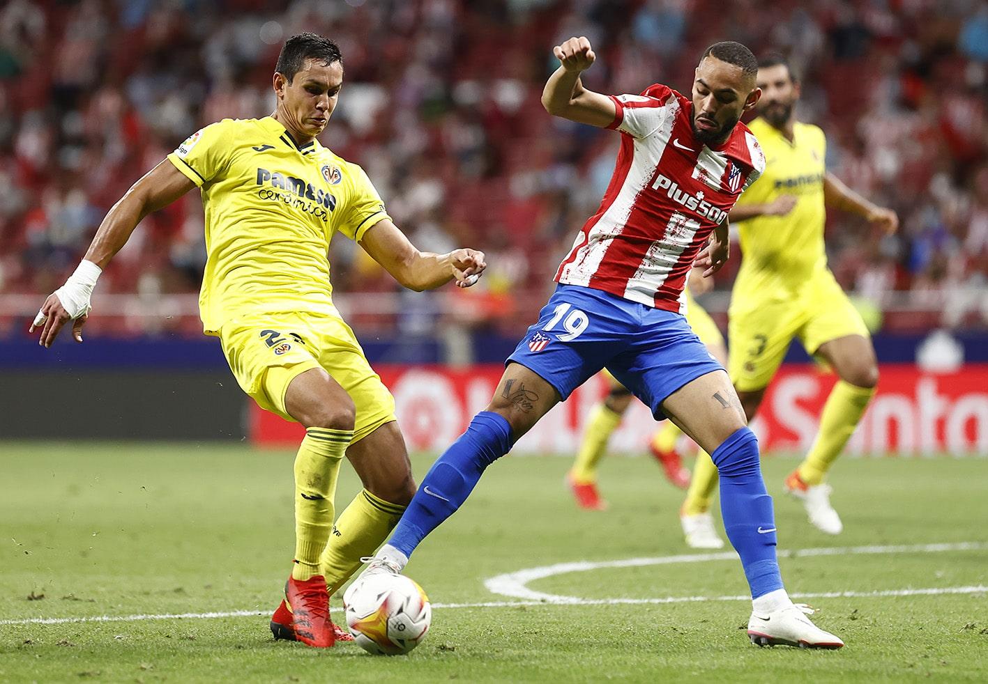 ترتيب الدوري الإسباني بعد تعادل أتلتيكو مدريد وفياريال