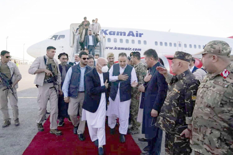 أشرف غني الرئيس الأفغاني