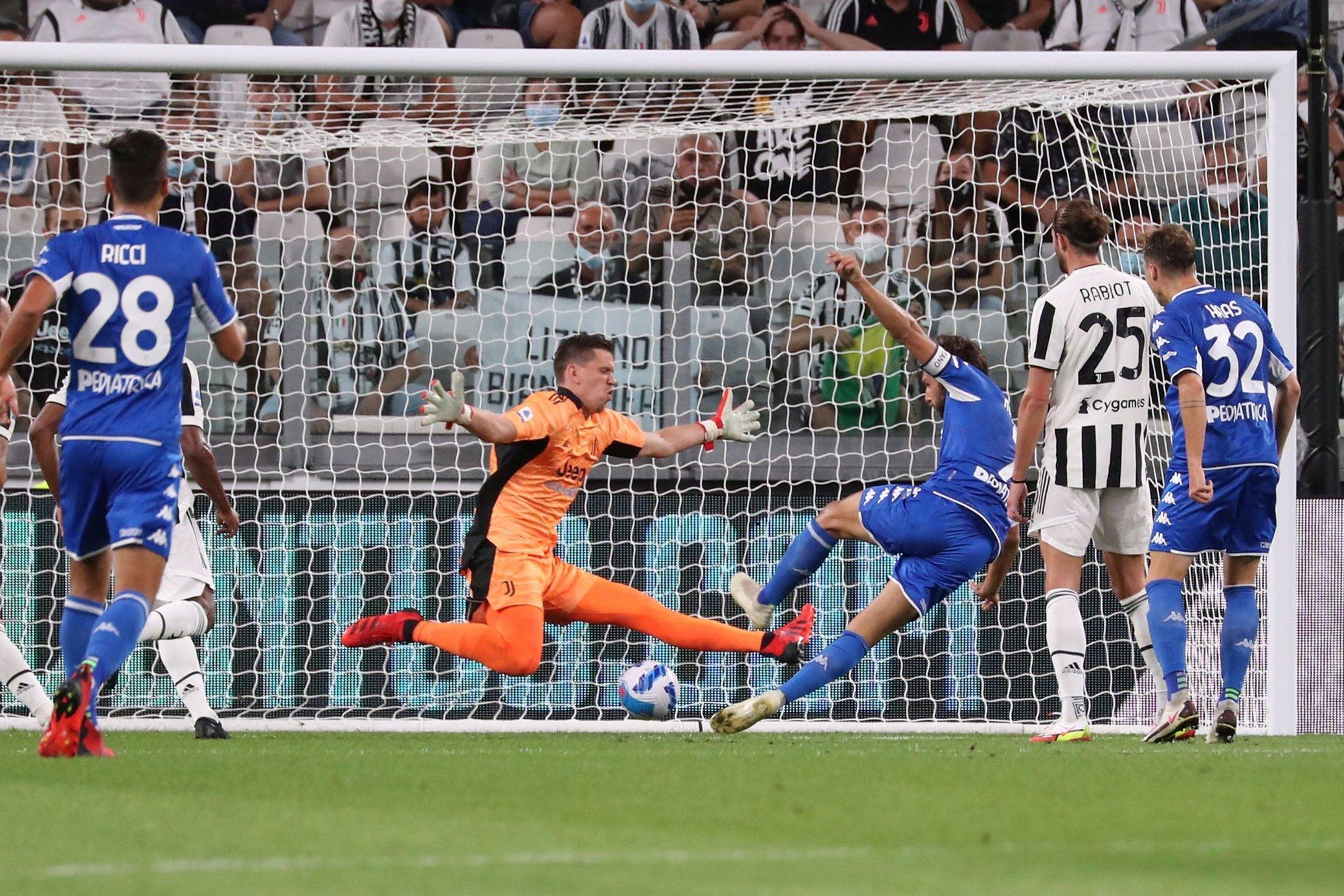 مباراة يوفنتوس وإمبولي في الدوري الإيطالي