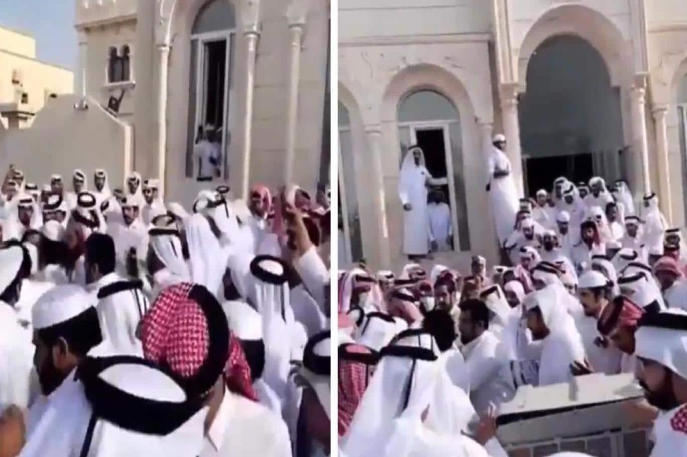 اعتصام آل مرة في قطر