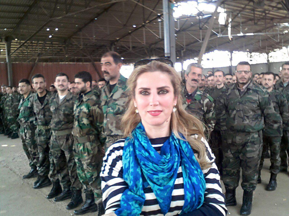 الاعلامية السورية كنانة علوش
