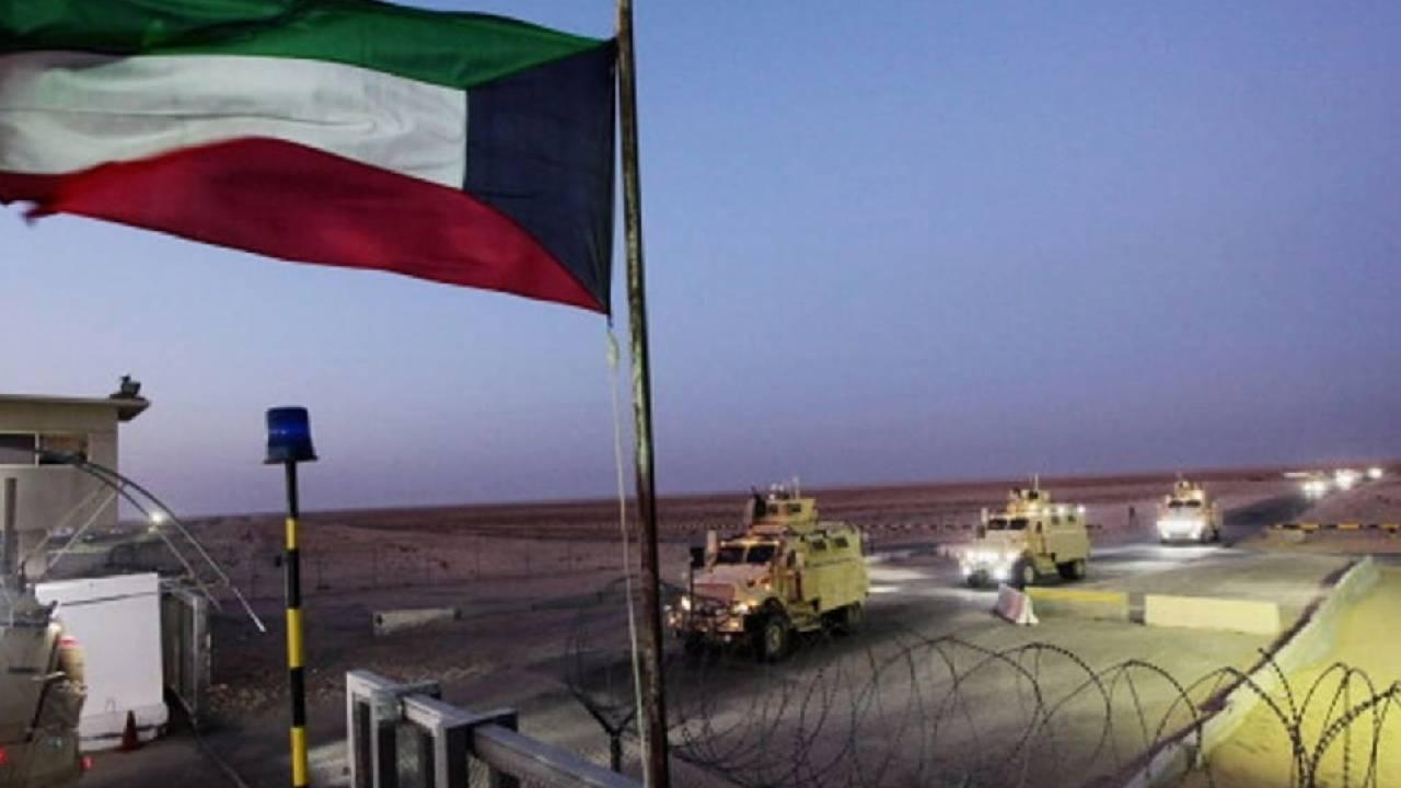 فيديو يرصد إطلاق الصواريخ صوب القاعدة الأمريكية على الحدود الكويتية (شاهد)