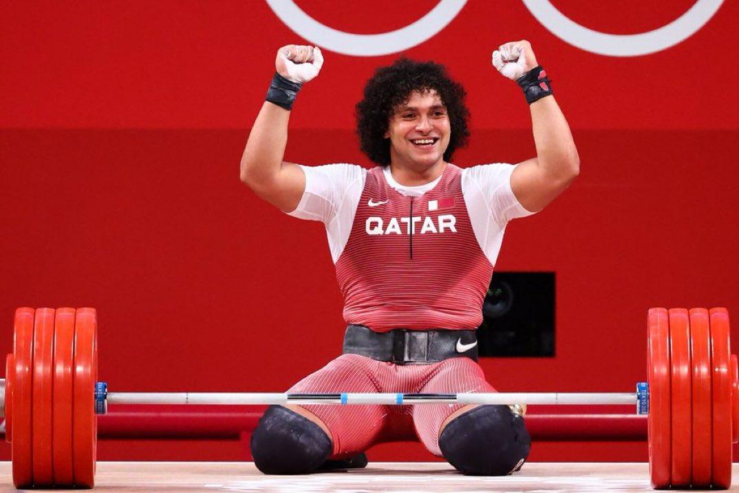 الرباع القطري فارس حسونة وتحقيق أول ميدالية ذهبية لدولة قطر في أولمبياد طوكيو