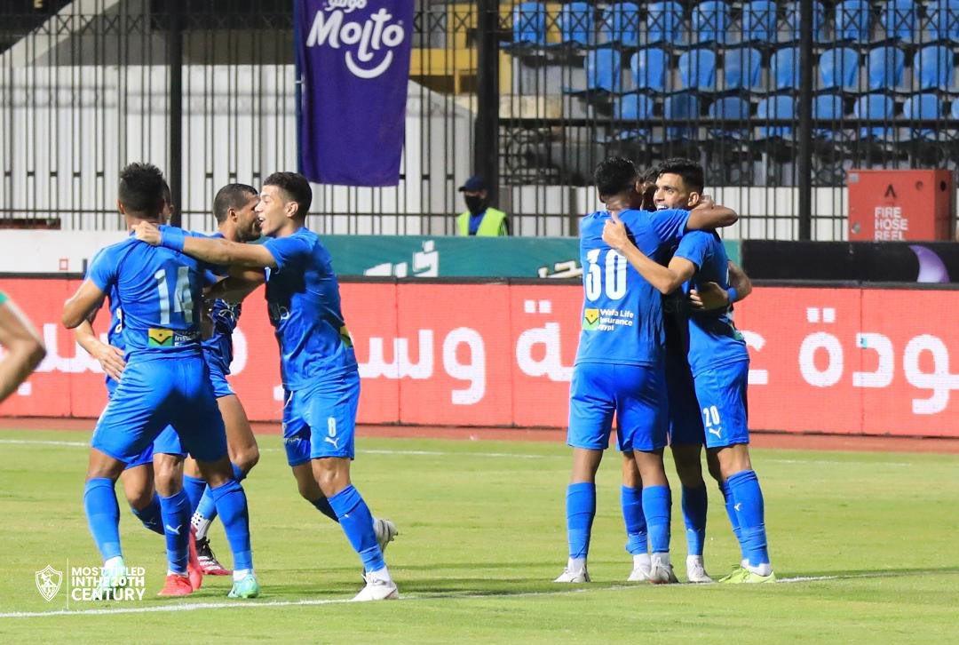 مباراة الزمالك والاتحاد السكندري في الدوري المصري