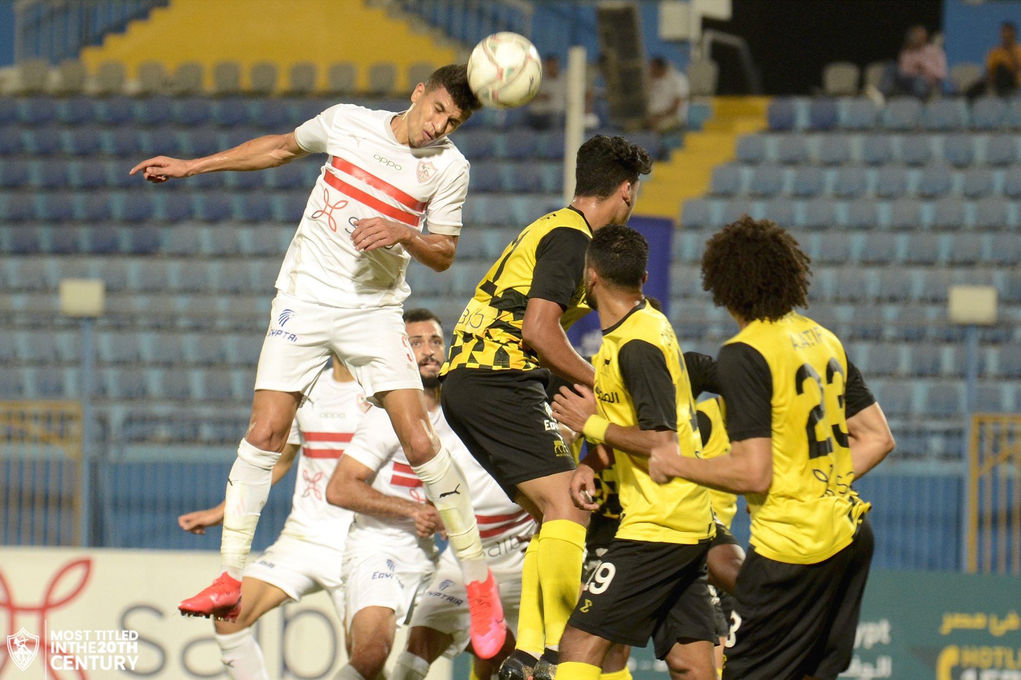 الزمالك ينفرد في صدارة الدوري المصري بعد هزيمة وادي دجلة (فيديو)