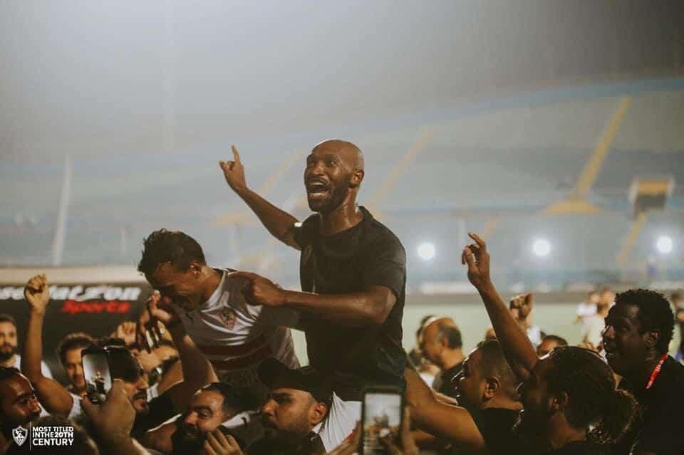 الزمالك يتوج بلقب الدوري المصري للمرة ال13 في تاريخه بعد فوزه على الإنتاج الحربي (فيديو)