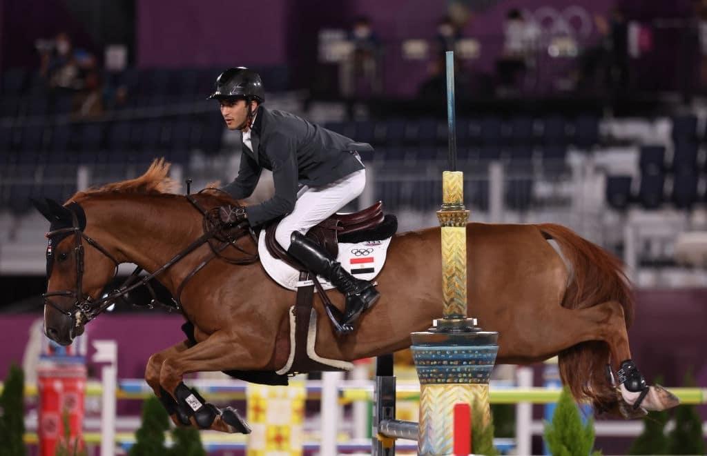 الفارس المصري نايل نصار ومنافسات أولمبياد طوكيو