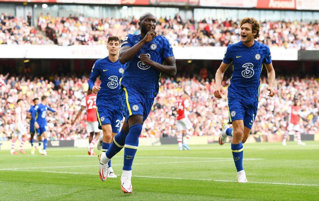 لوكاكو يوقع هدفه الأول مع تشيلسي في ديربي الدوري الإنجليزي (فيديو)