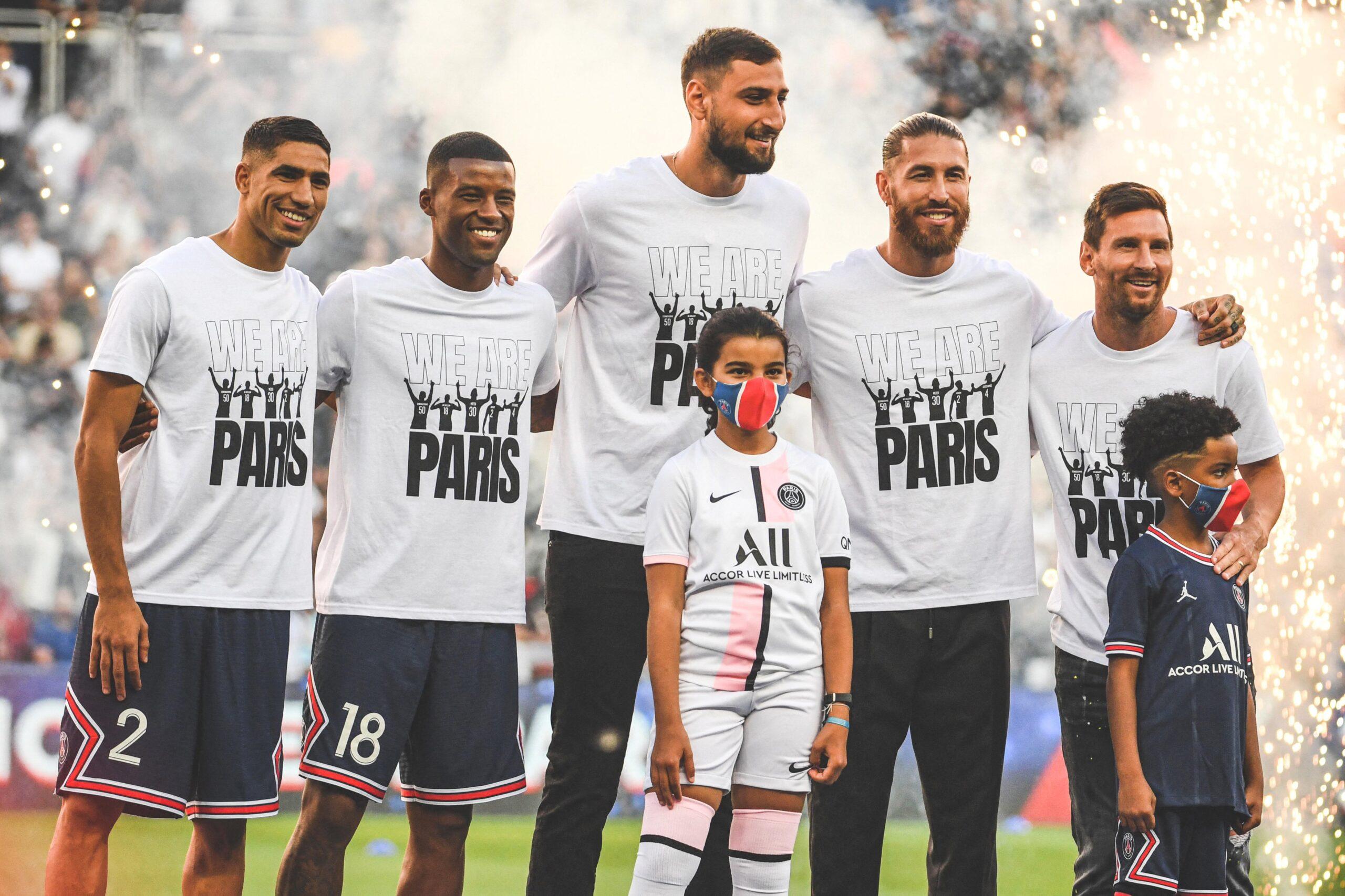 نجوم فريق باريس سان جيرمان الجدد