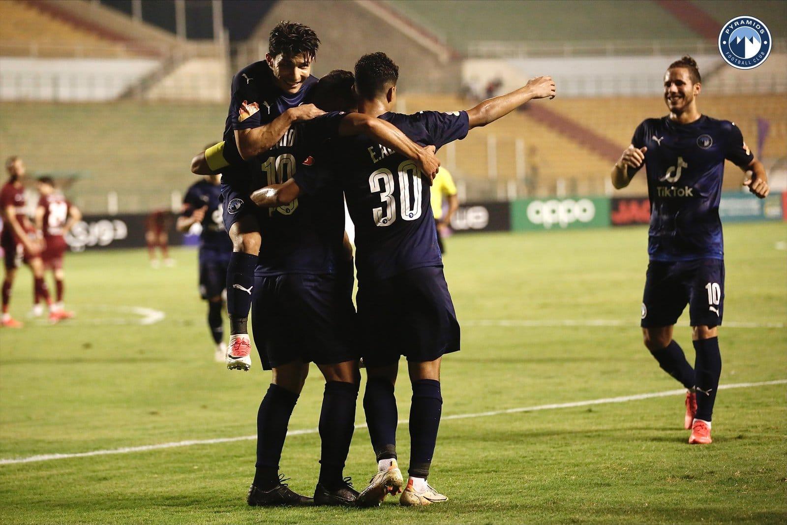 بيراميدز يحقق فوزه العريض على مصر المقاصة في الدوري المصري (شاهد)