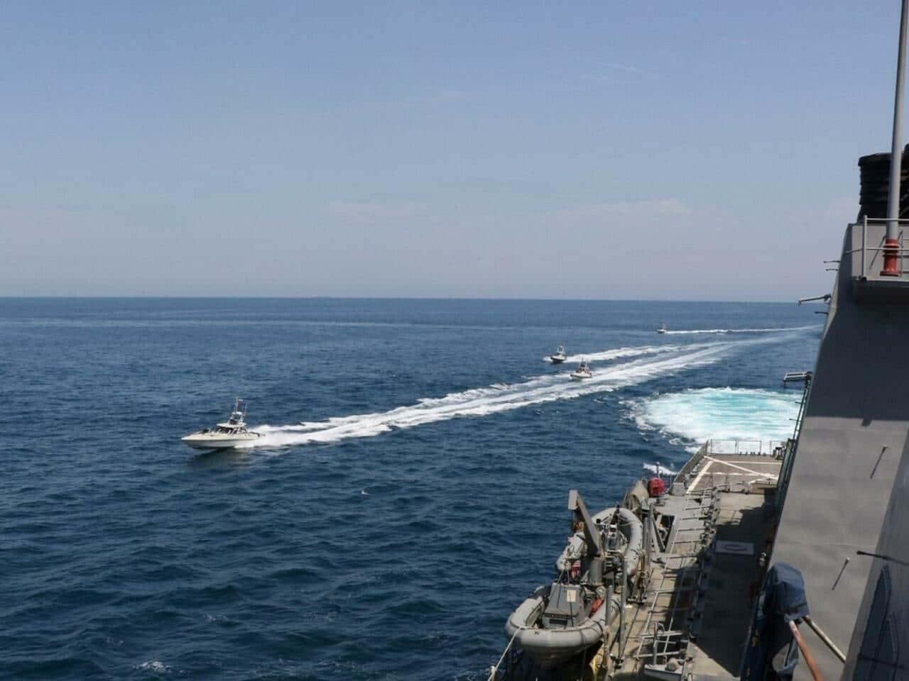توتر بين إيران وإسرائيل في الخليج