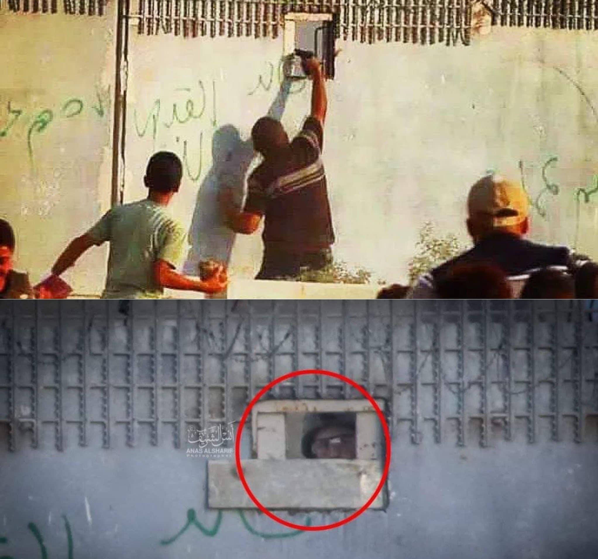 جندي اسرائيلي على حدود غزة إسرائيل