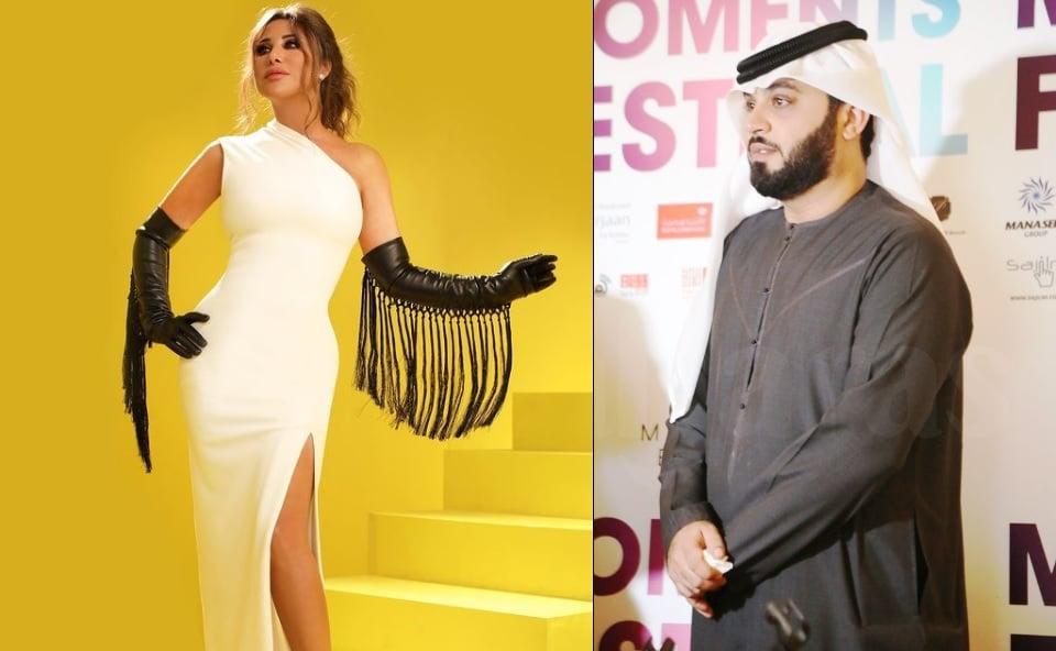 ايلي باسيل كشف هوية حبيب نجوى كرم وادعى انه رجل الأعمال الإماراتي عمر الدهماني