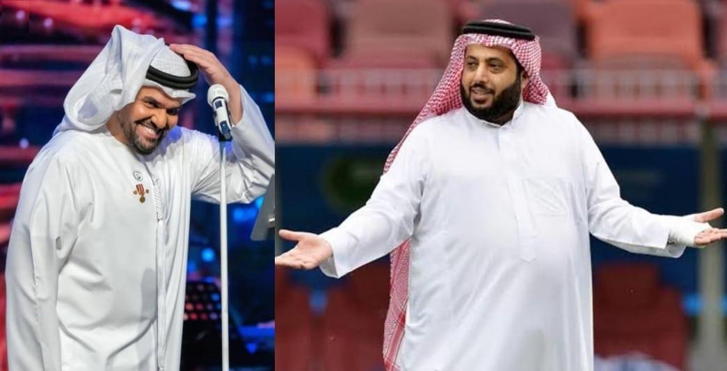 حسين الجسمي يهنئ تركي آل الشيخ بعيد ميلاده والجمهور يسخر