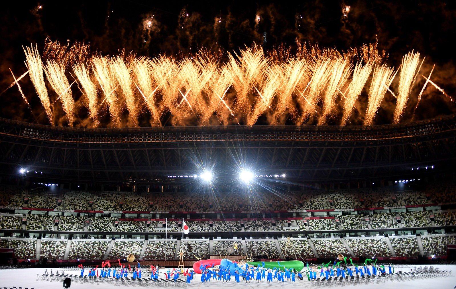 افتتاح دورة الألعاب البارالمبية لذوي الاحتياجات الخاصة