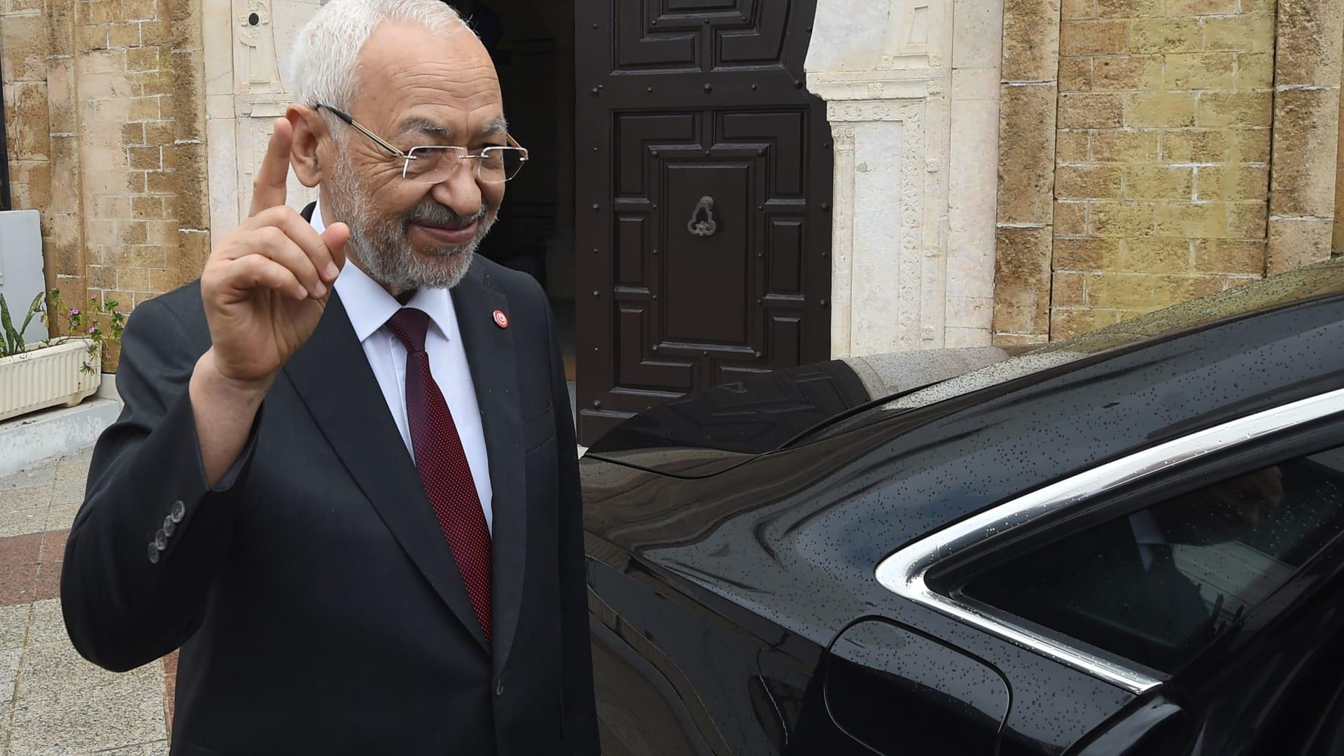 راشد الغنوشي يتهم الامارات بالوقوف وراء انقلاب تونس