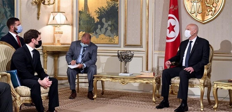 رسالة خطية من بايدن إلى رئيس تونس قيس سعيد