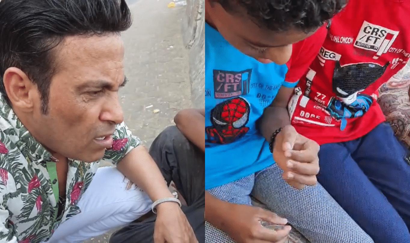 سعد الصغير ينقذ طفلين من التشرد