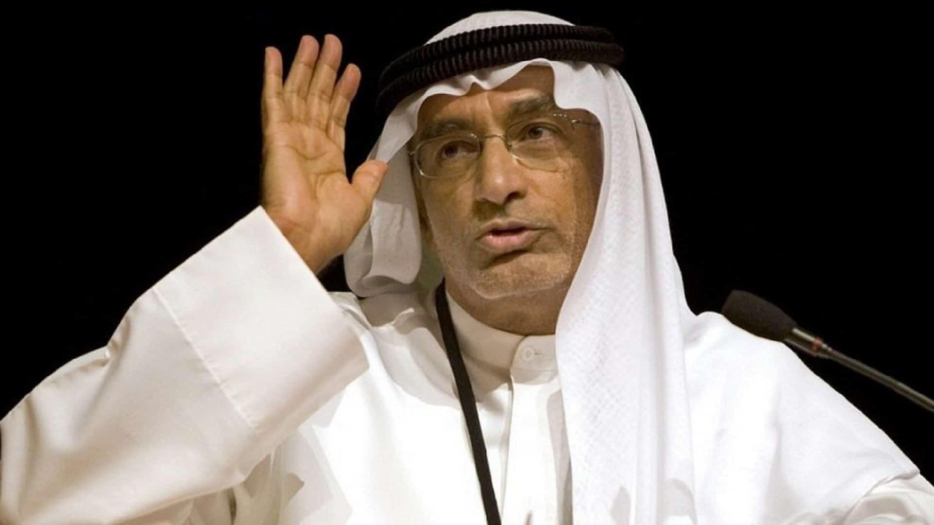 عبدالخالق عبدالله ينتقد مفتي سلطنة عمان