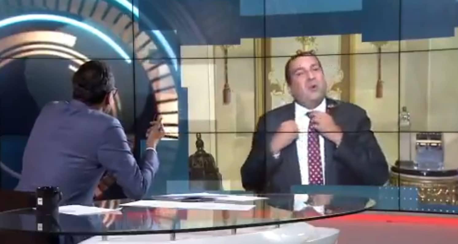 عمرو خالد ينسحب من مقابلة مع قناة العربية