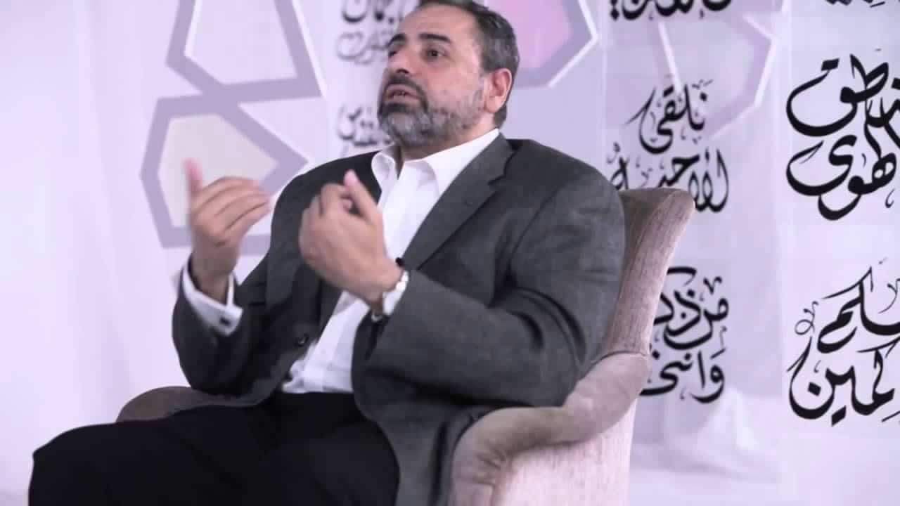 فاضل سليمان يتحدث عن مفتي عمان أحمد الخليلي