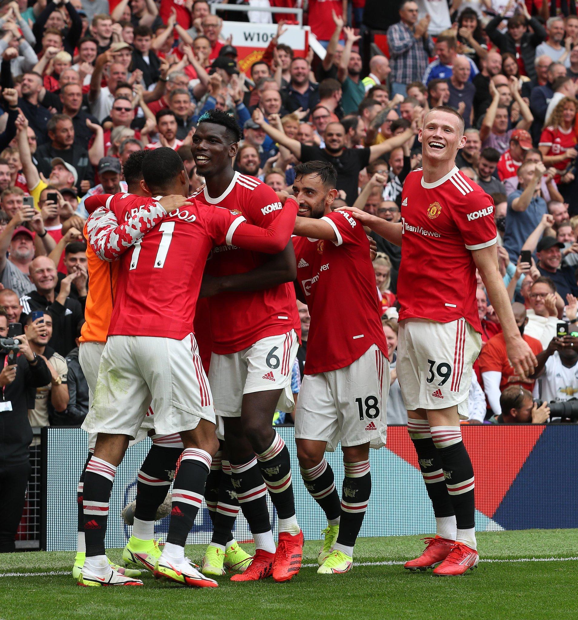 مانشستر يونايتد يقسو على ليدز يونايتد بهزيمة ثقيلة في مباراة تألق بوغبا (شاهد)