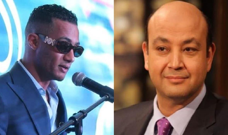 """(ذنب الراجل في رقبته) .. عمرو أديب يشمت بمحمد رمضان بعد """"فضيحة الدكتوراه"""""""
