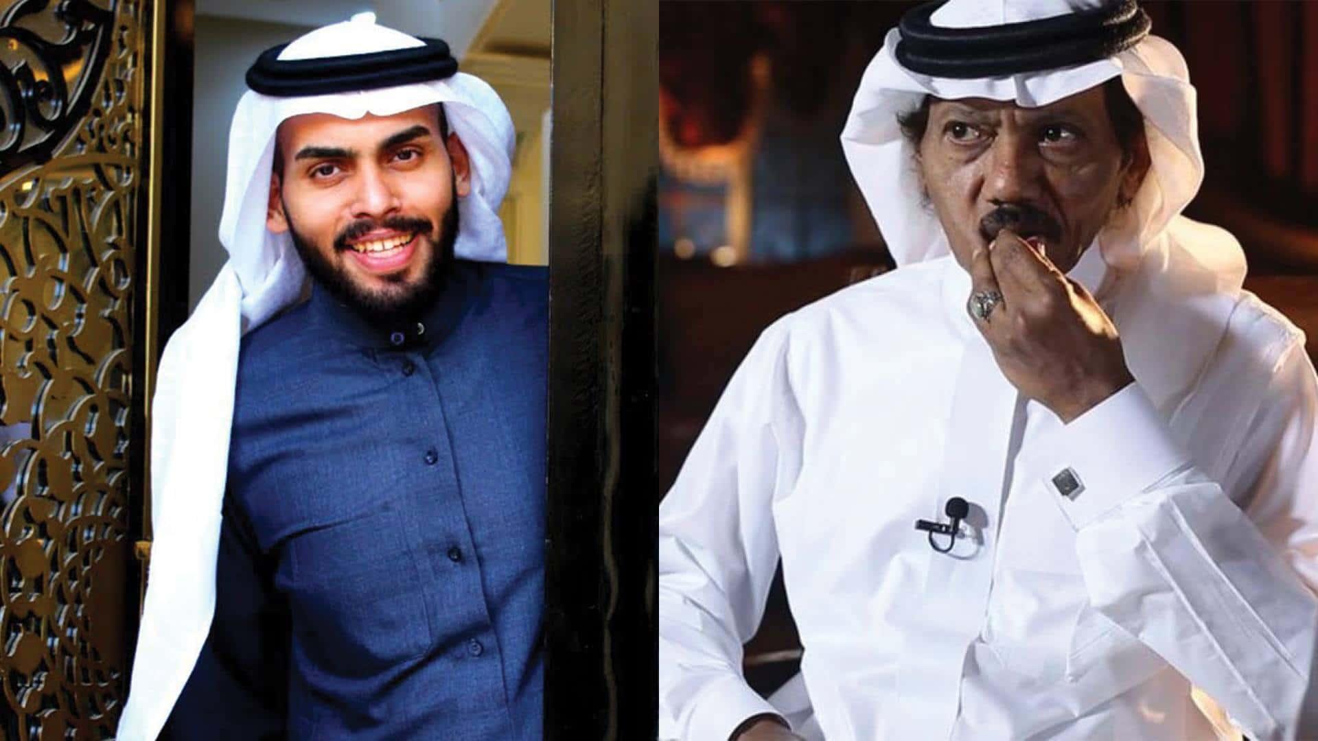 محمد سعود وعبده خال