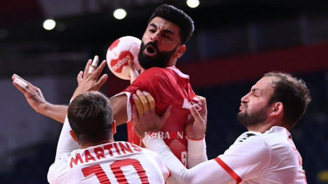 مباراة منتخب البحرين لكرة اليد وفرنسا
