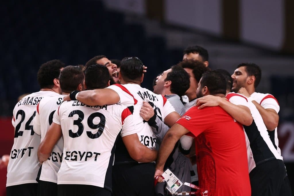مباراة منتخب مصر لكرة اليد وألمانيا في أولمبياد طوكيو