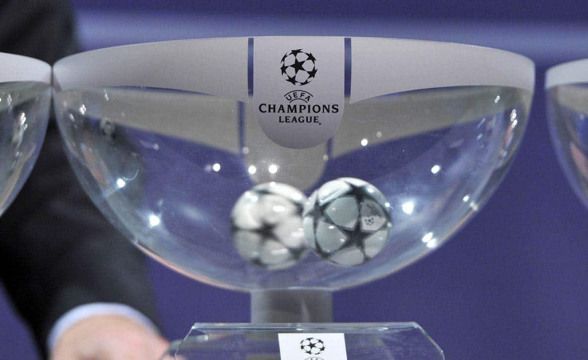 قرعة منافسات دوري أبطال أوروبا والقنوات الناقلة