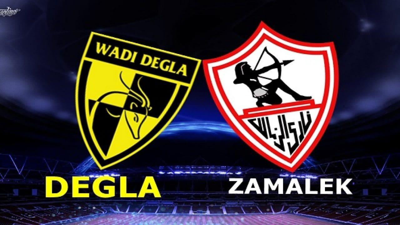 مباراة الزمالك ووداي دجلة في الدوري المصري