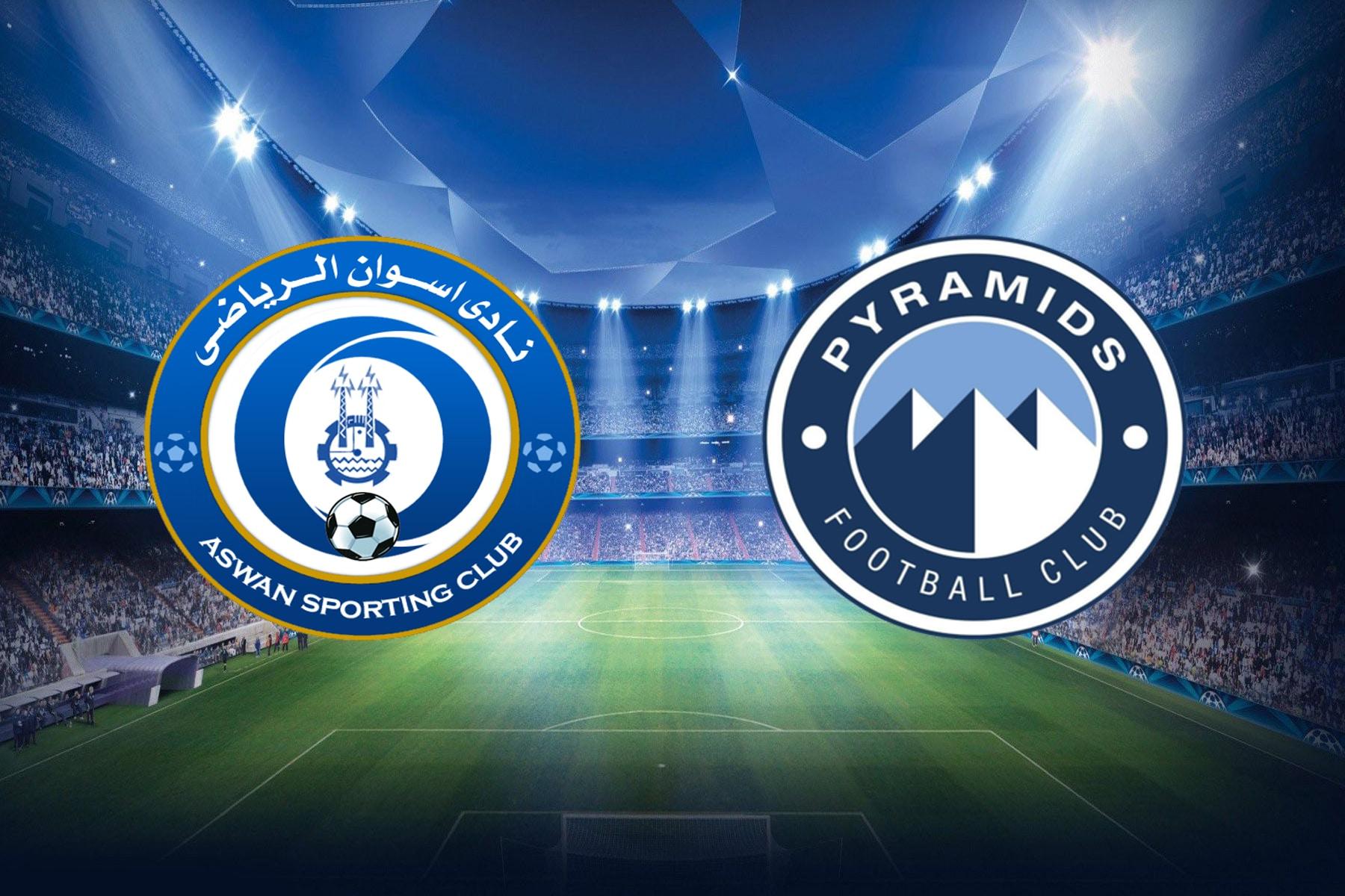 مباراة بيراميدز وأسوان في الدوري المصري