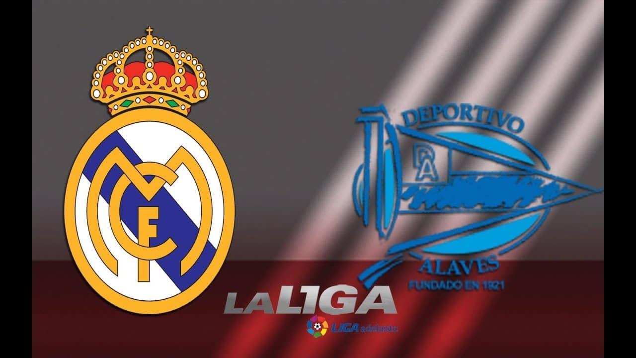 مباراة ريال مدريد وألافيس في الدوري الإسباني