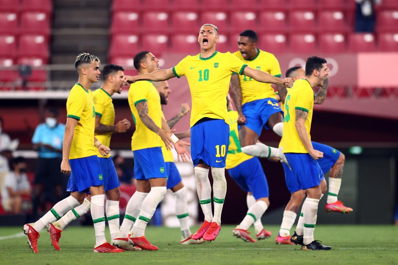 مباراة منتخب البرازيل وإسبانيا في نهائي أولمبياد طوكيو
