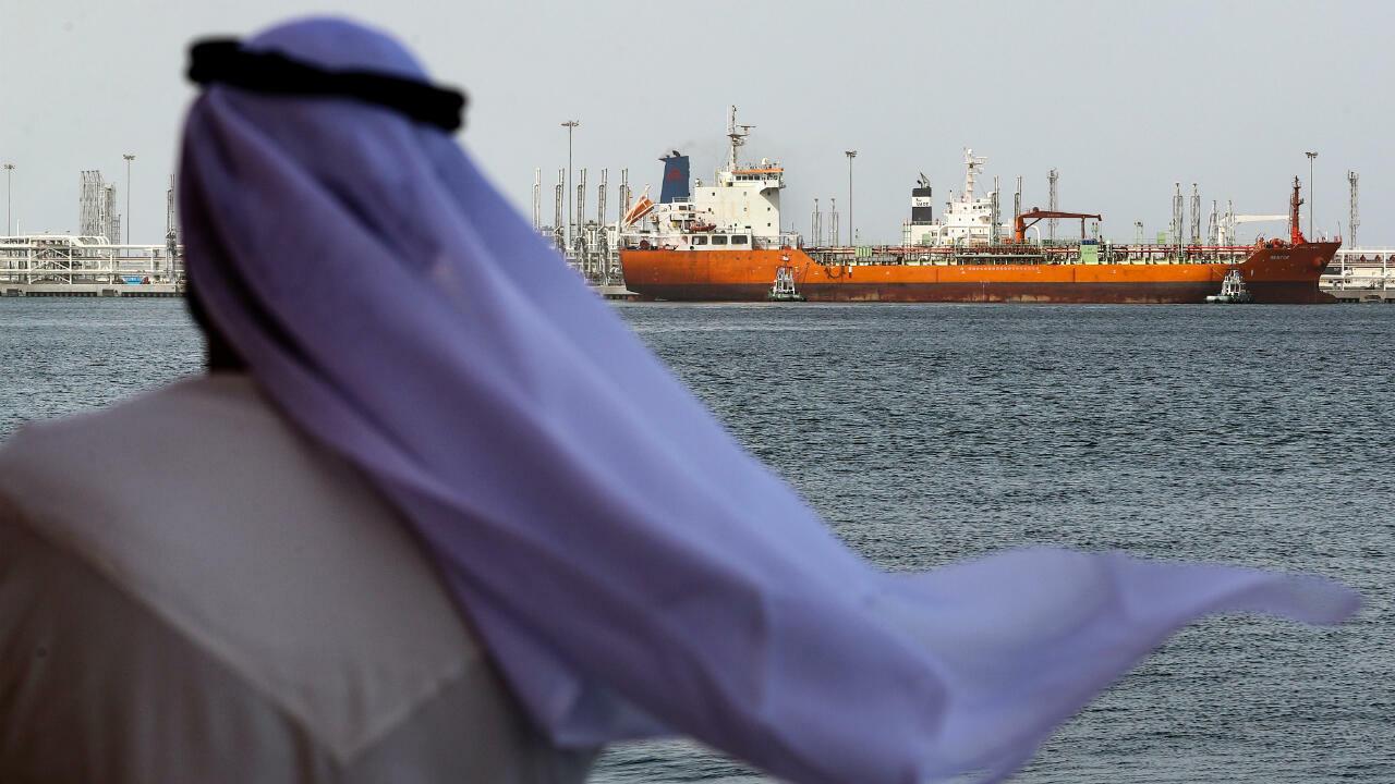 ناقلات نفط في الإمارات