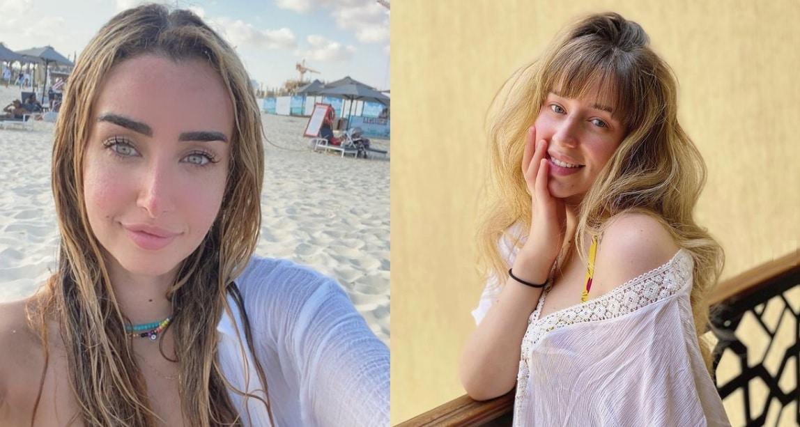 """""""بدون مكياج أحلى"""" .. صورة هنا الزاهد وشقيقتها تُشعل مواقع التواصل (شاهد)"""