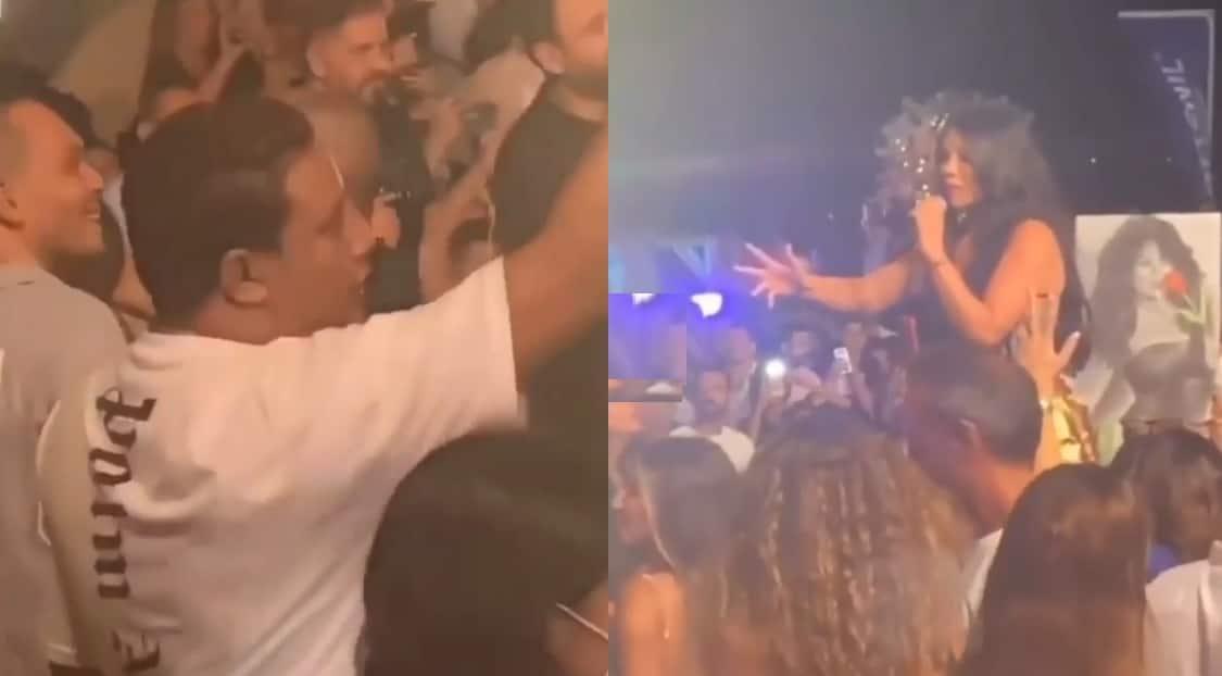 هيفاء وهبي و حمو بيكا في حفل العلمين الجديدة