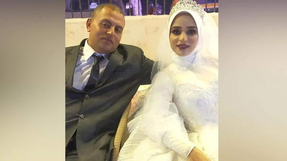 العروس إسراء شعبان سعد